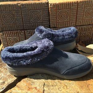 Gowalk Leather Suede Faux Fur Lined